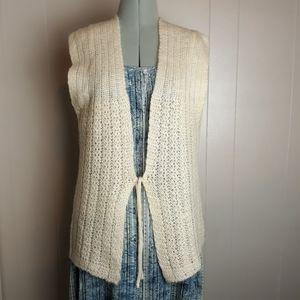 80s Vintage Japanese knit vest